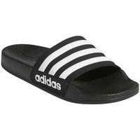 Boty Děti pantofle adidas Originals Adilette Shower K Černé