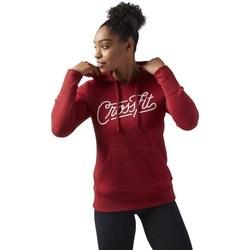 Textil Ženy Mikiny Reebok Sport Crossfit Červené