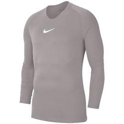 Textil Muži Trička s dlouhými rukávy Nike Dry Park First Layer Šedé