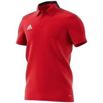 Textil Muži Polo s krátkými rukávy adidas Originals Condivo 18 Polo Červené