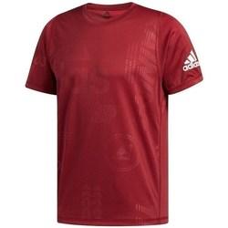 Textil Muži Trička s krátkým rukávem adidas Originals Freelift Daily Press Vínově červené