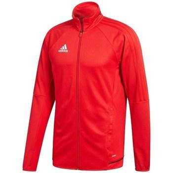 adidas Teplákové bundy Tiro 17 - Červená