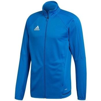 adidas Teplákové bundy Tiro 17 - Modrá