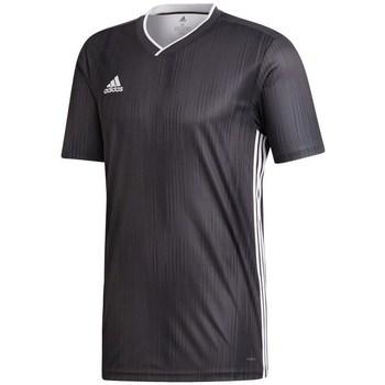 adidas Trička s krátkým rukávem Tiro 19 - Černá