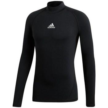 Textil Ženy Trička s dlouhými rukávy adidas Originals Alphaskin Climawarm Golf Černé