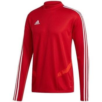 adidas Trička s dlouhými rukávy Tiro 19 Training Top - Červená