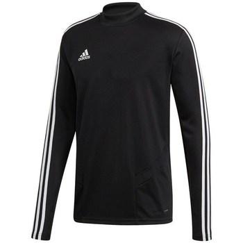 adidas Trička s dlouhými rukávy Tiro 19 Training Top - Černá