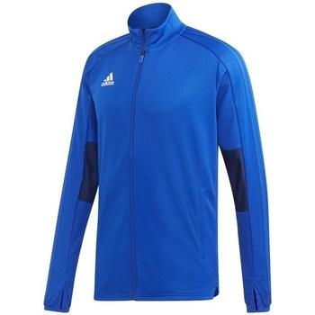 Textil Muži Teplákové bundy adidas Originals Condivo 18 Training Modrá
