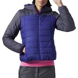 Textil Ženy Prošívané bundy Reebok Sport FW Padded Bomber Modré, Tmavomodré