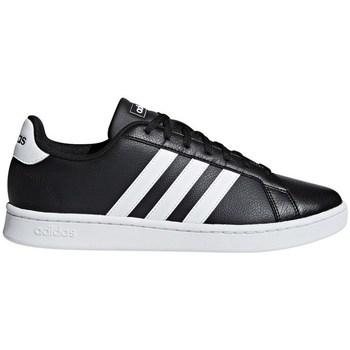 Boty Muži Nízké tenisky adidas Originals Grand Court Černé