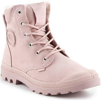 Boty Ženy Kotníkové boty Palladium Manufacture Pampa Sport Růžové