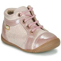 Boty Dívčí Kotníkové boty GBB OMANE Růžová