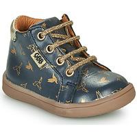 Boty Dívčí Kotníkové boty GBB FAMIA Modrá / Zlatá