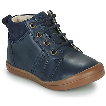 Boty Chlapecké Kotníkové boty GBB NILS Modrá