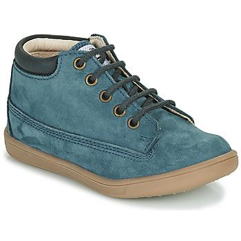 Boty Chlapecké Kotníkové boty GBB NORMAN Modrá