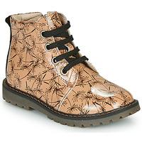 Boty Dívčí Kotníkové boty GBB NAREA Růžová