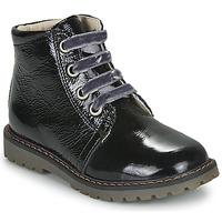 Boty Dívčí Kotníkové boty GBB NAREA Černá