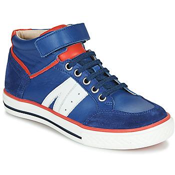 Boty Chlapecké Kotníkové tenisky GBB ALIMO Modrá