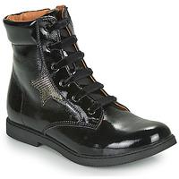 Boty Dívčí Kotníkové boty GBB JAMILA Černá