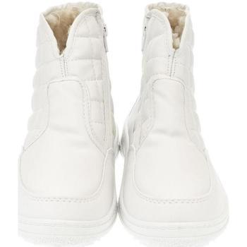 Boty Ženy Zimní boty John-C Dámske biele členkové čižmy E-LUX sivá