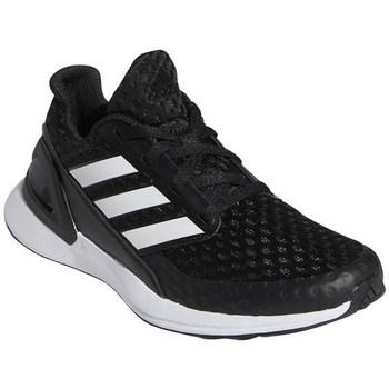 Boty Děti Běžecké / Krosové boty adidas Originals Rapidarun Černé