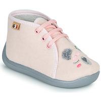 Boty Dívčí Papuče GBB CHARIE Růžová