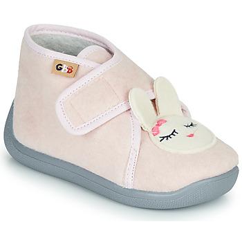 Boty Dívčí Papuče GBB HELORIE Růžová