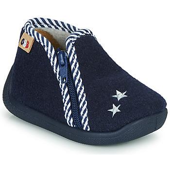 Boty Chlapecké Papuče GBB KITRA Modrá