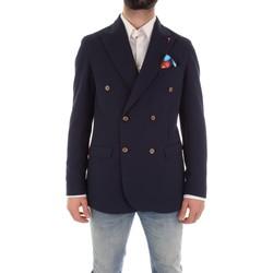 Textil Muži Saka / Blejzry Mulish ASTONMARTIN-GKS907 Modrá
