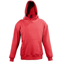 Textil Děti Mikiny Sols SLAM KIDS SPORT Rojo