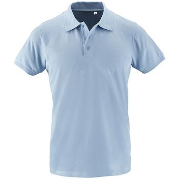 Textil Muži Polo s krátkými rukávy Sols PHOENIX MEN SPORT Azul