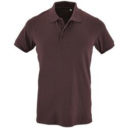 Textil Muži Polo s krátkými rukávy Sols PHOENIX MEN SPORT Violeta