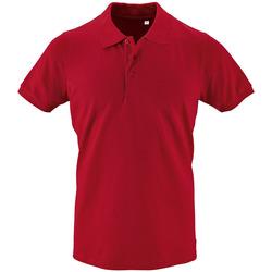 Textil Muži Polo s krátkými rukávy Sols PHOENIX MEN SPORT Rojo