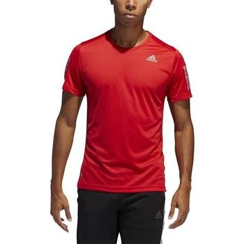 Textil Muži Trička s krátkým rukávem adidas Originals Own The Run Tee Červené
