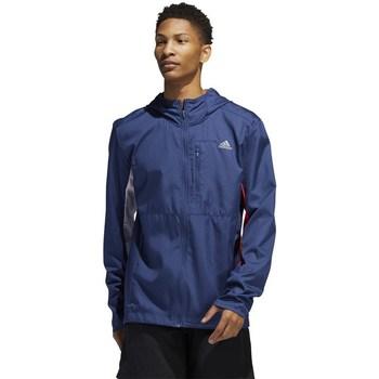 Textil Muži Teplákové bundy adidas Originals Own The Run Jkt Modrá