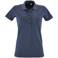 Textil Ženy Polo s krátkými rukávy Sols PHOENIX WOMEN SPORT Azul