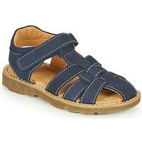 Boty Chlapecké Sandály André TURTLE Tmavě modrá