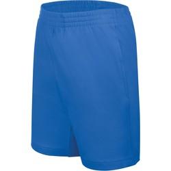 Textil Děti Kraťasy / Bermudy Proact Short enfant Jersey  Sport bleu marine