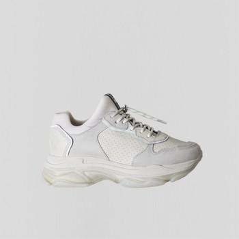 Boty Ženy Nízké tenisky Bronx Chaussures femme  Baisley Suede blanc cassé