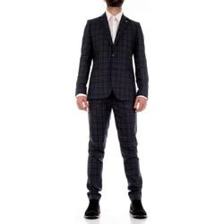 Textil Muži Obleky Mulish CBR-AB7200Q Modrá