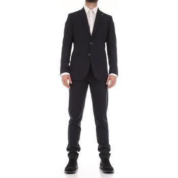 Textil Muži Obleky Mulish 50SPECIAL-AB7200 Modrá