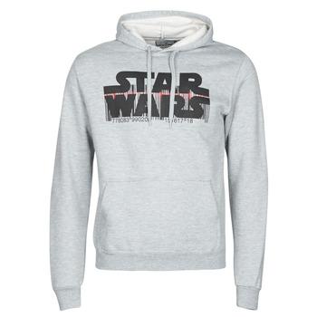 Textil Muži Mikiny Yurban Star Wars Bar Code Šedá