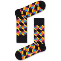 Textilní doplňky Muži Ponožky Happy Socks Optiq square sock Vícebarevné