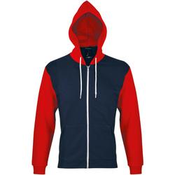 Textil Teplákové bundy Sols SILVER KANGAROO SPORT Rojo