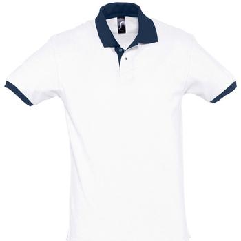 Textil Polo s krátkými rukávy Sols PRINCE COLORS Blanco