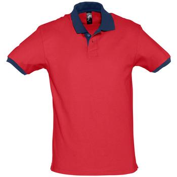 Textil Polo s krátkými rukávy Sols PRINCE COLORS Rojo