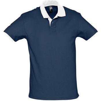 Textil Polo s krátkými rukávy Sols PRINCE COLORS Azul