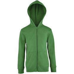 Textil Děti Mikiny Sols STONE COLORS KIDS Verde