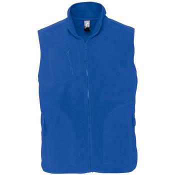 Textil Fleecové bundy Sols NORWAY POLAR Azul