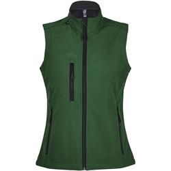 Textil Ženy Větrovky Sols RALLYE SPORT WOMEN Verde